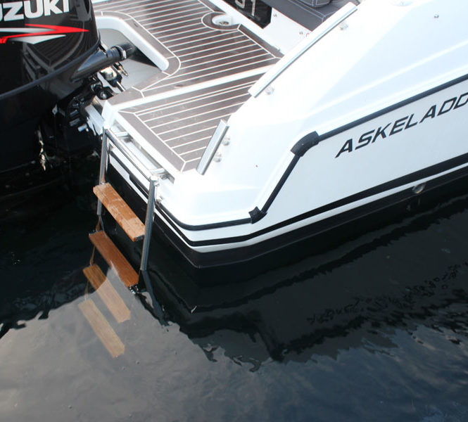 Askeladden C61 Center Console badestige ned